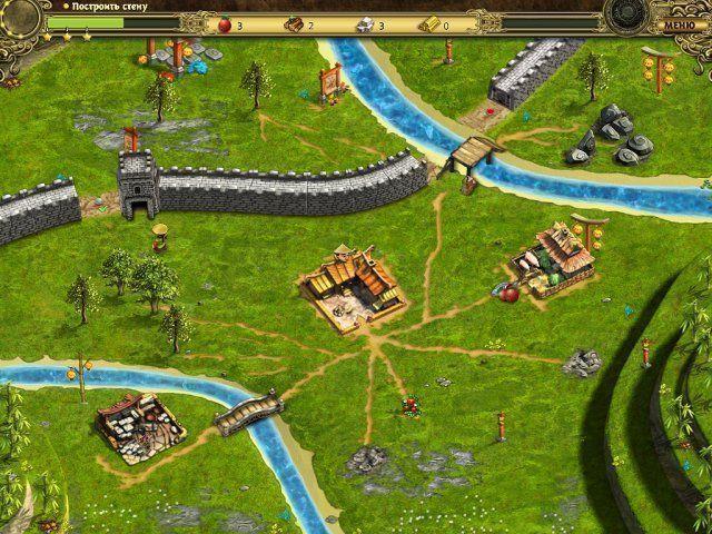 Возведение Великой китайской стены. Скриншот 3