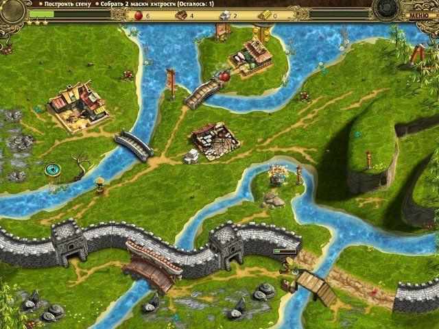 Возведение Великой китайской стены. Скриншот 5