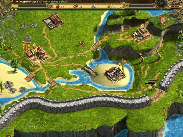Возведение Великой китайской стены. Скриншот 6