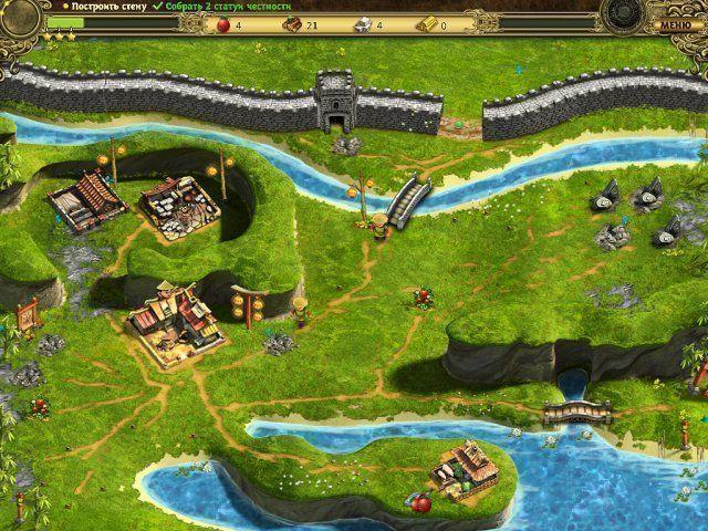 Возведение Великой китайской стены. Скриншот 7