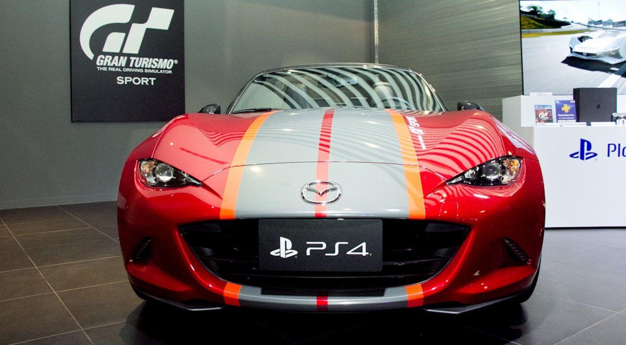 Эксклюзивное издание игры Gran Turismo Sport содержит в себе настоящий автомобиль. Скриншот 2