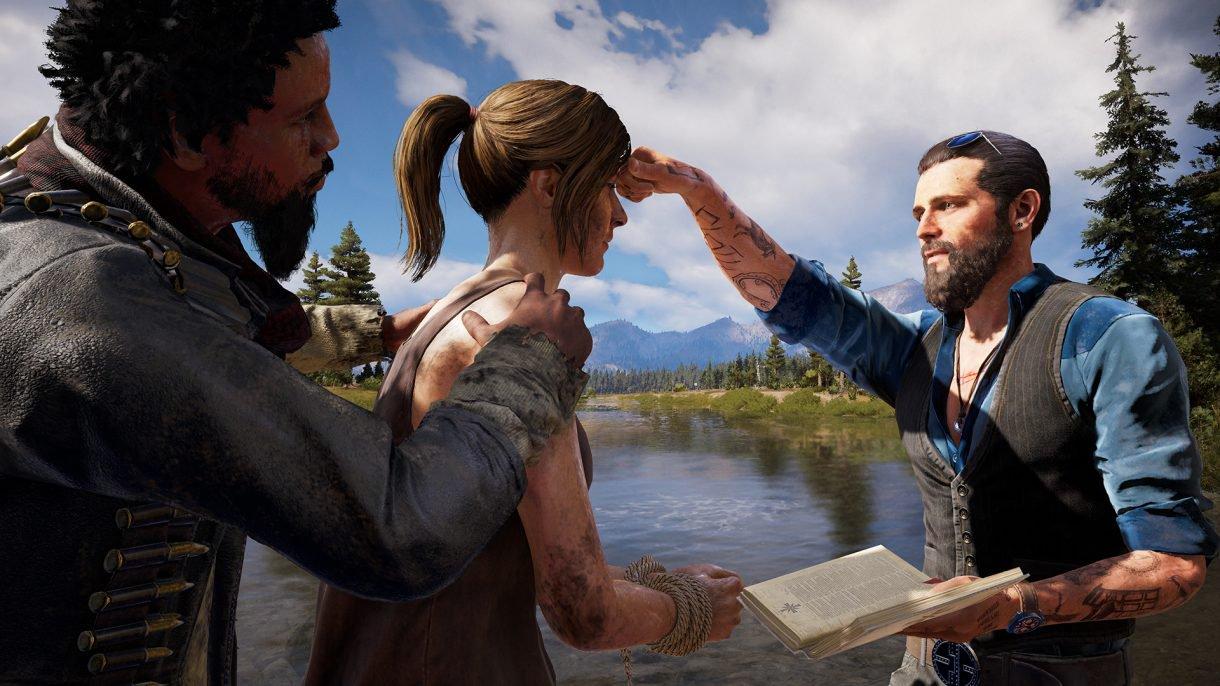 Обор игры Far Cry 5: один против культа. Скриншот 1
