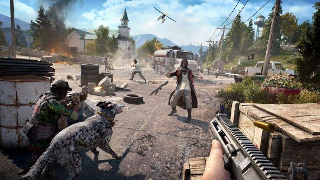 Обор игры Far Cry 5: один против культа. Скриншот 2