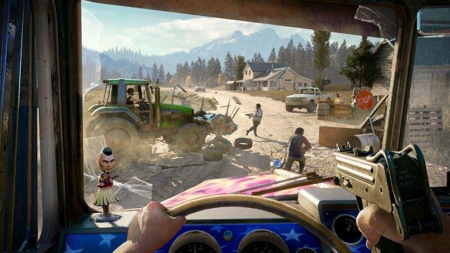 Обор игры Far Cry 5: один против культа. Скриншот 5