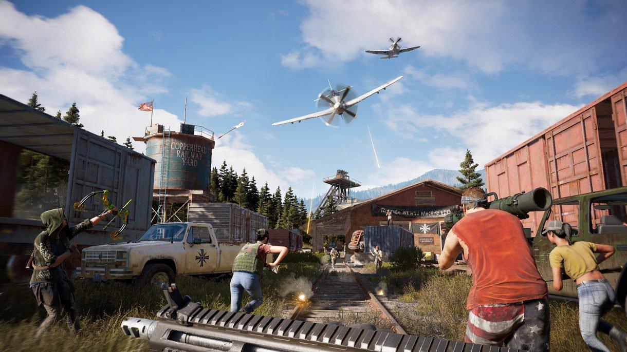 Обор игры Far Cry 5: один против культа. Скриншот 6