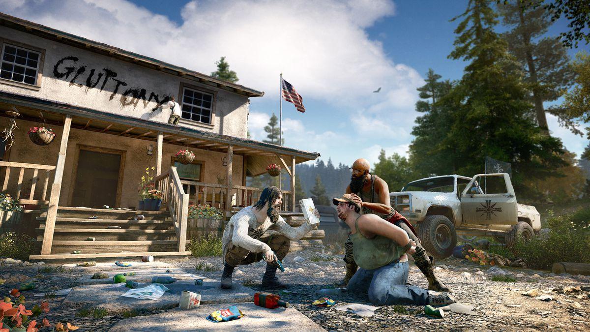 Обор игры Far Cry 5: один против культа. Скриншот 7