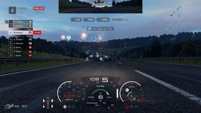 Обзор игры Gran Turismo Sport. Скриншот 5
