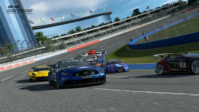 Обзор игры Gran Turismo Sport. Скриншот 2
