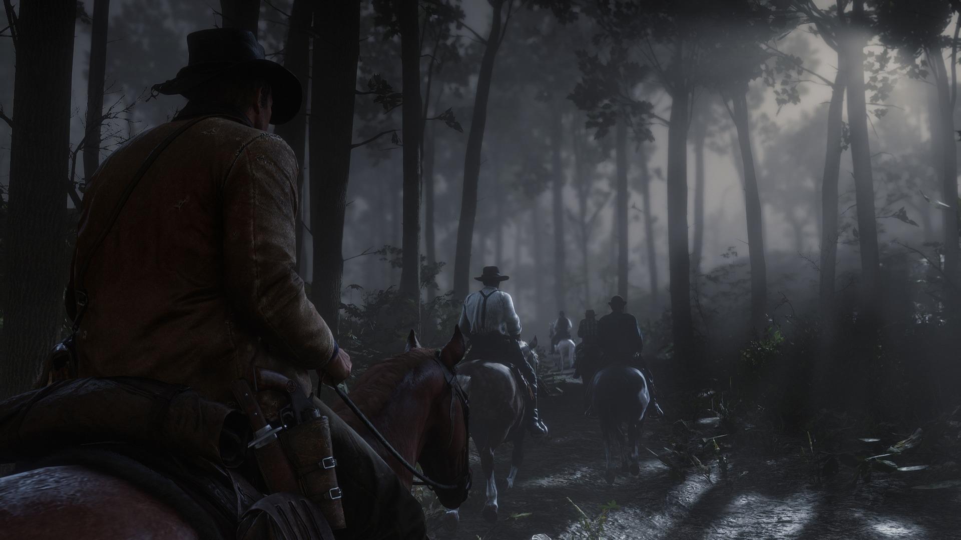 Обзор Red Dead Redemption 2. Лошадь моё всё.. Скриншот 3