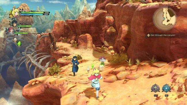 Обзор игры Ni no Kuni II: Revenant Kingdom. Скриншот 3