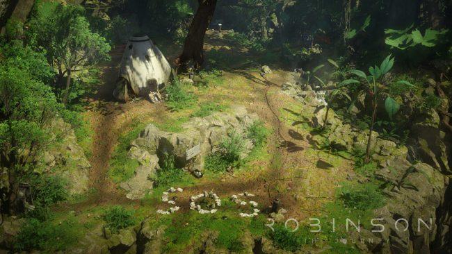 Обзор игры Robinson: The Journey: виртуальная реальность Юрского периода. Скриншот 4