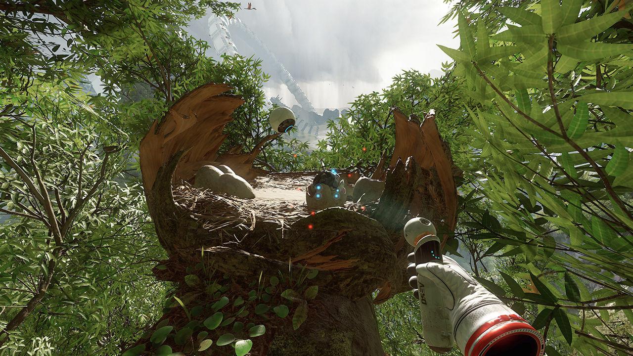 Обзор игры Robinson: The Journey: виртуальная реальность Юрского периода. Скриншот 5