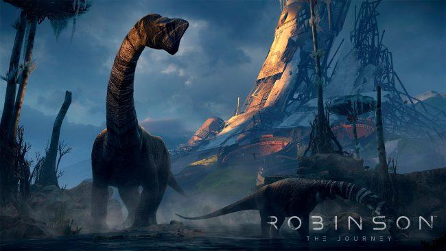 Обзор игры Robinson: The Journey: виртуальная реальность Юрского периода. Скриншот 11