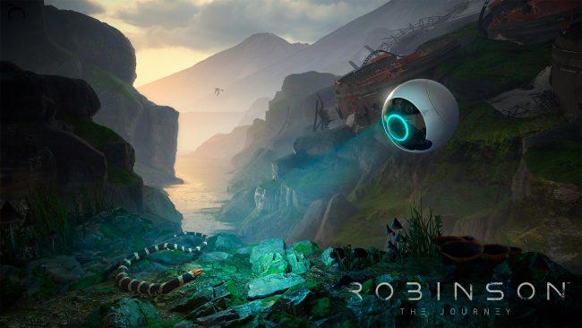 Обзор игры Robinson: The Journey: виртуальная реальность Юрского периода. Скриншот 12