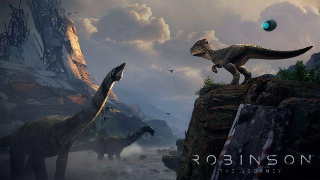 Обзор игры Robinson: The Journey: виртуальная реальность Юрского периода. Скриншот 13