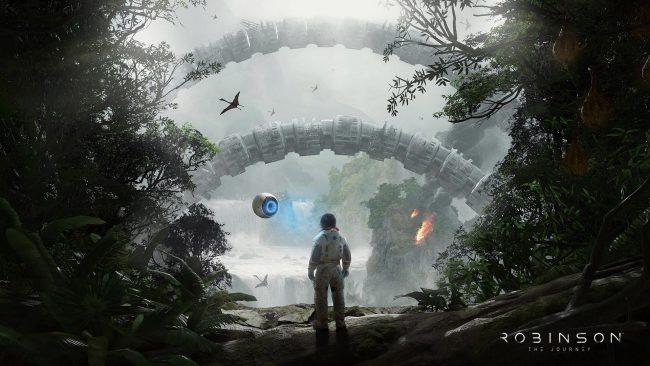 Обзор игры Robinson: The Journey: виртуальная реальность Юрского периода. Скриншот 15