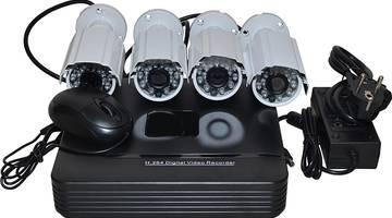 Комплекты видеонаблюдения для дома