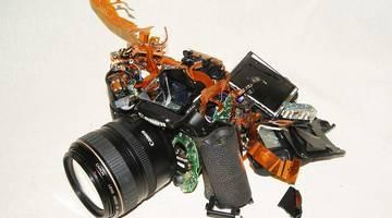 Распространенные поломки современных зеркальных фотоаппаратов