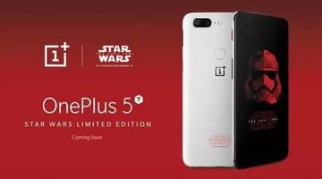 OnePlus запускает телефон Star Wars 5T в Индии
