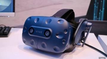 Взгляните на беспроводной адаптер HTC Vive Pro и VR