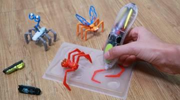 Новые комплекты 3Doodler помогают детям создавать роботизированных насекомых и динозавров