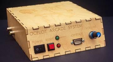 Пользовательская осциллографическая консоль отдает дань памяти играм Star Fox и Asteroids