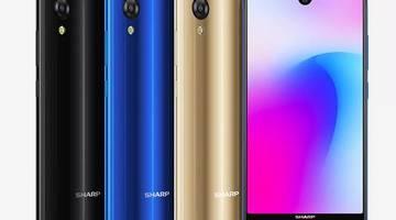 Широкоэкранные телефоны Sharp выглядят все менее особенными