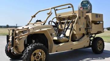 В США создали передвижную лазерную пушку