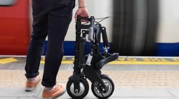 Складной мини-электровелосипед A-Bike собирается за 10 секунд