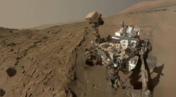 Марсоход «Кьюриосити» бездействовал больше двух недель