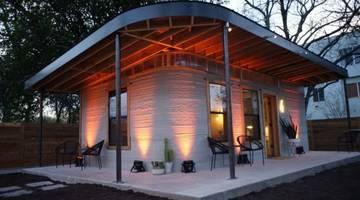 Представлена технология 3D-печати для производства домов менее, чем за 24 часа