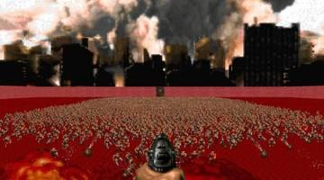 Искусственный интеллект создал уровни для Doom не хуже людей