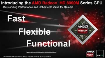 AMD Radeon HD 8970M: самая быстрая мобильная видеокарта в мире