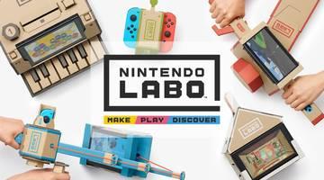 Nintendo LABO: японцы представили серию аксессуаров из картона для Switch