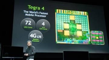 #CES | NVIDIA Tegra 4: быстрее, мощнее, экономнее