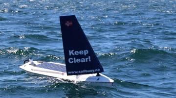 Автономный дрон впервые переплыл Атлантику