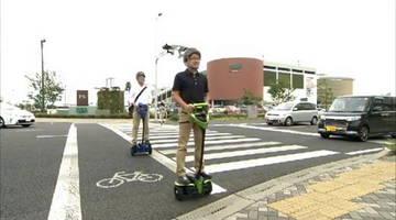 Toyota тестирует новый электрический двухколесный самокат