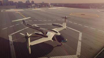 Uber выпустил видео с демонстрацией работы летающих такси