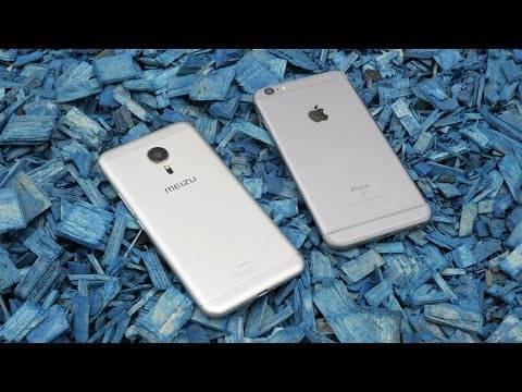 Meizu Pro 5 vs iPhone 6S Plus - великое сравнение!
