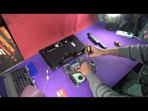 Разборка и чистка ноутбука Acer Aspire V3 571G