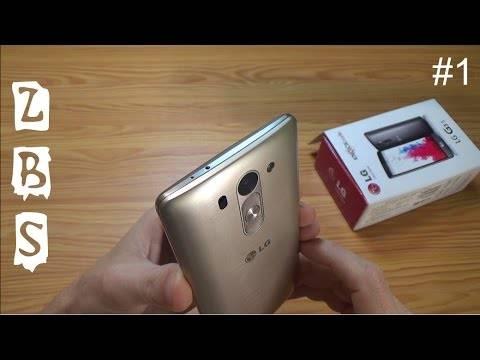 LG G3s Gold Распаковка! (unboxing)