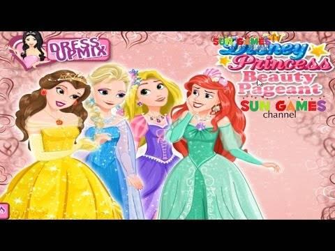 Принцессы Дисней готовятся идти на карнавал: одевалки для девочек