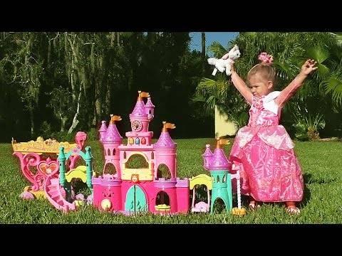 ✿ ЗАМОК ПРИНЦЕССЫ Авроры Игры Для Девочек Disney Princess Play Castle Toys Видео для Детей Принцессы