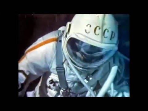 Алексей Леонов - Первый человек в открытом космосе/Alexey Leonov - The first man to walk in space