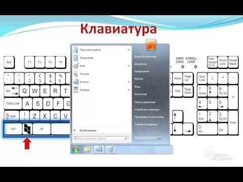 Компьютер для начинающих 3 - Компьютерная Клавиатура