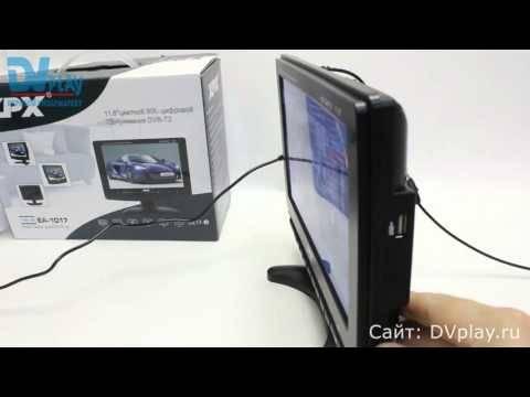XPX EA-1017 (DVB-T2) - обзор цифрового телевизора