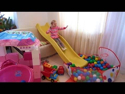 Развлечения для Детей Игровая Комната в Квартире Fun For Kids Playground at home